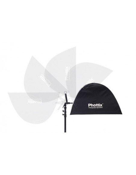 """Soporte adaptador Phottix Multi Boom 16"""" para flashes compactos"""