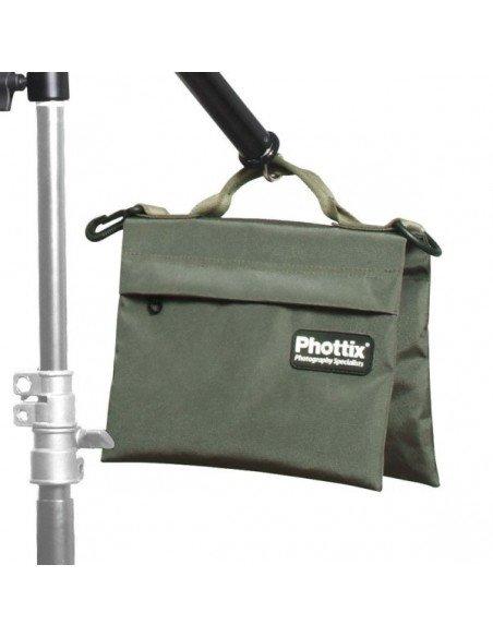 Bolsa Sandbag Phottix para contrapeso Tamaño M hasta 5kg (vacía)
