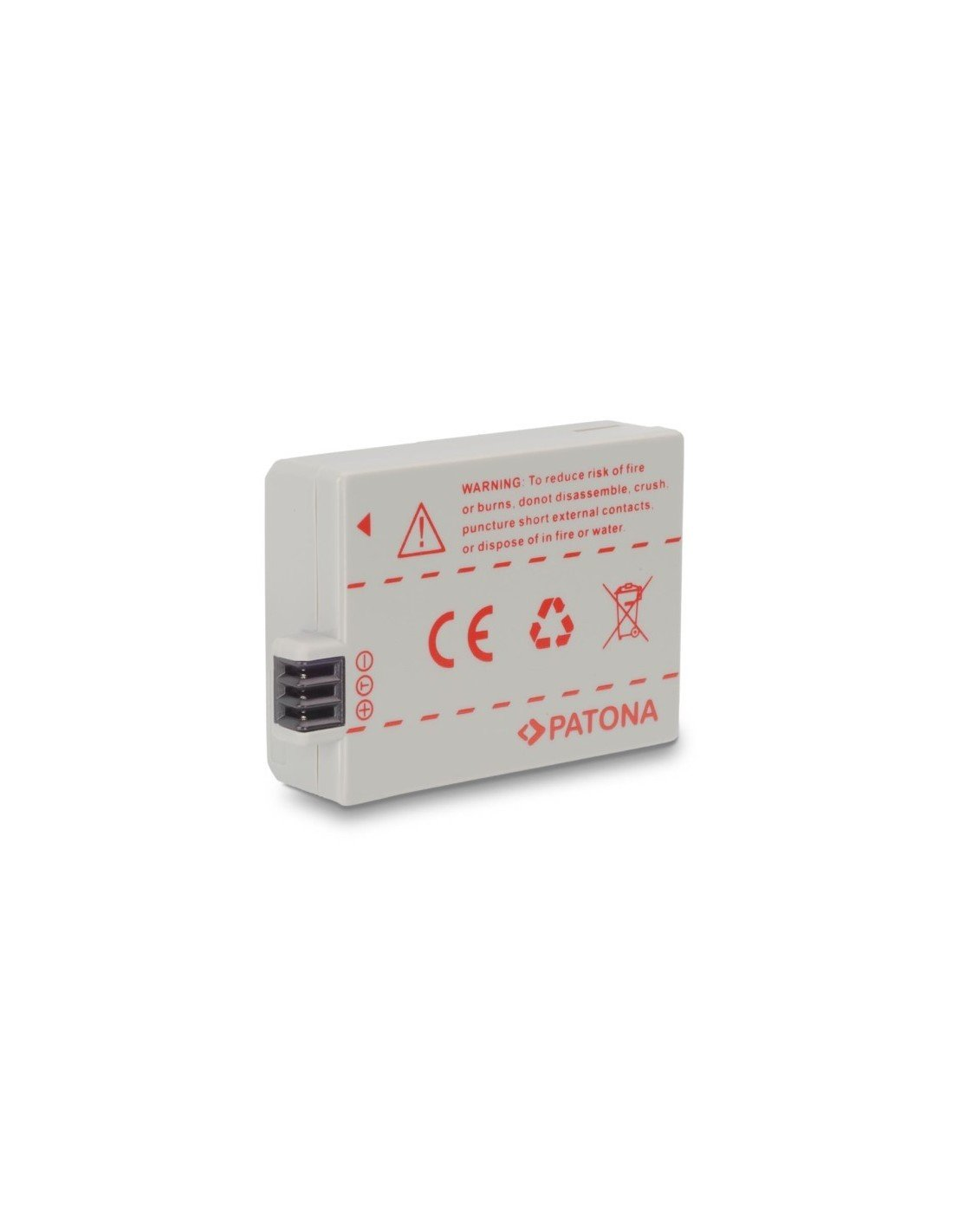 Batería Patona LP-E5 Infochip para Canon Eos 450D 500DBargainFotos