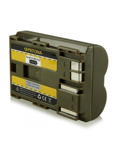 Batería Patona BP-511 para Canon 1D 5D 20D 30D 40D 50D 300D