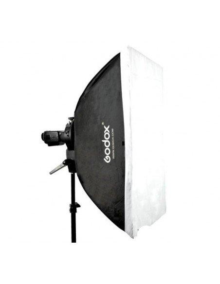 Soporte adaptador Godox tipo Bowens S-type para flash compacto