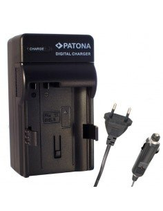 Cargador de viaje para Sony serie NP-F550 F750 F770 F970 F930 F960