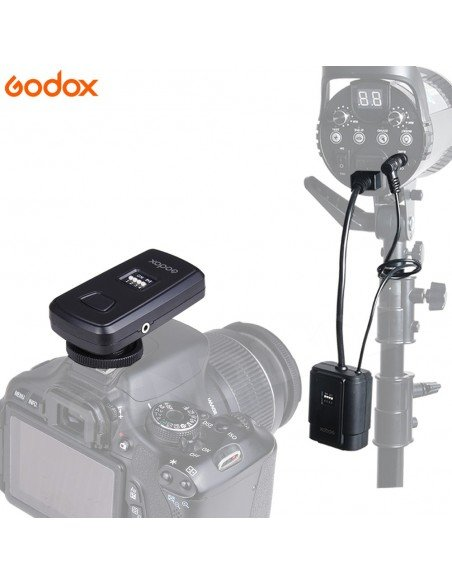 Disparador Godox DM-16 para flashes de estudio