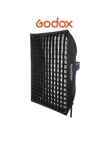 Ventana Godox Premium 60x60cm con adaptador Elinchrom y GRID
