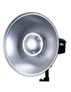 Beauty Dish Godox 42cm interior plateado