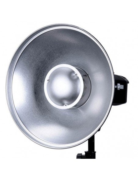 Beauty Dish Godox 42cm interior plateado