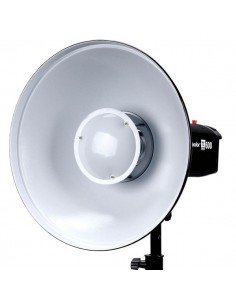 Beauty Dish Godox 55cm interior plateado