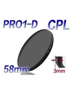 FILTRO JYC PRO1-D CPL POLARIZADOR CIRCULAR SUPER SLIM 58 mm