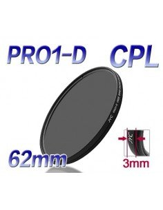 FILTRO JYC PRO1-D CPL POLARIZADOR CIRCULAR SUPER SLIM 62 mm
