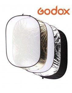 Reflector Plegable Ovalado Godox 5 en 1 100x150cm
