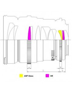 Tapa protectora frontal de objetivo 72mm