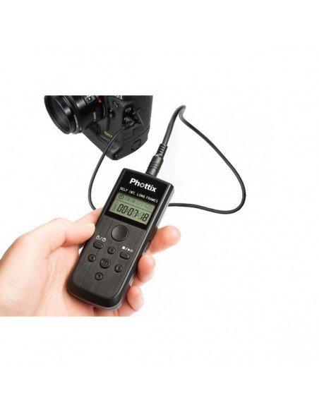 Cable de conexion PHOTTIX para Nikon D90 D5000 D5100 D3100 D7000 D600