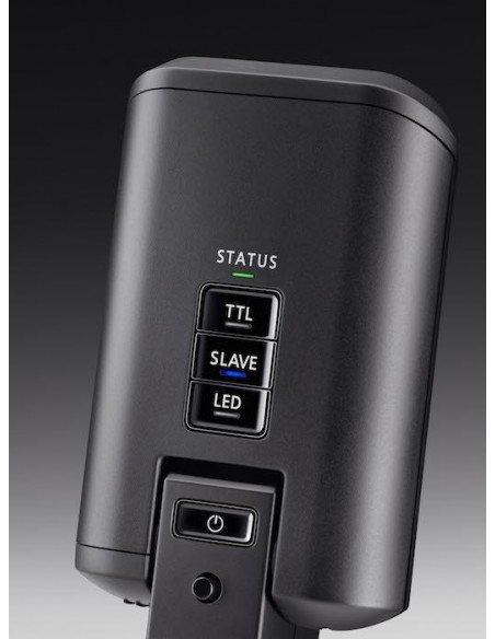 EMPUÑADURA Meike para Canon 550D 600D 650D LCD, mando RC5 y 2 baterias LP-E8