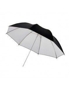 Paraguas Godox interior Blanco-exterior Negro 84cm