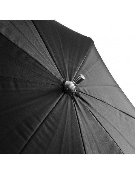 Paraguas Godox interior Blanco-exterior Negro 101cm