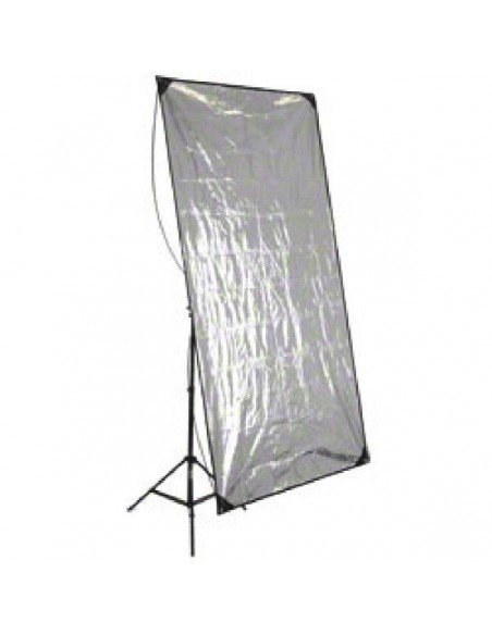 Panel reflector Walimex plata-dorado 90x180cm