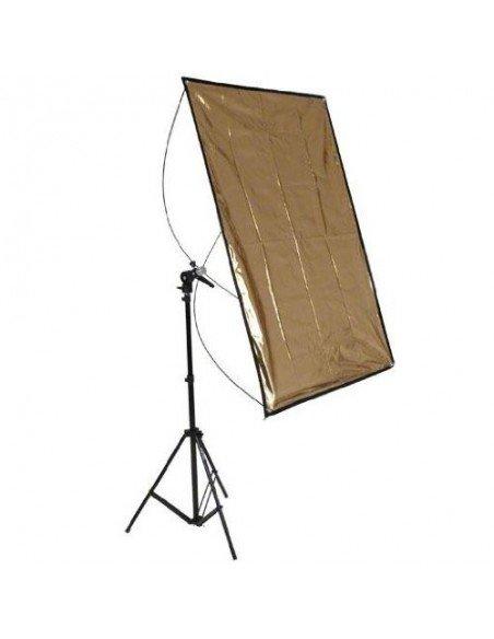Kit Panel Reflector Walimex 70x100cm y Trípode WT-803, 200cm