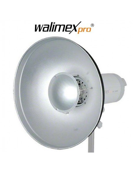 Beauty Dish Walimex universal para Elinchrom, 56cm
