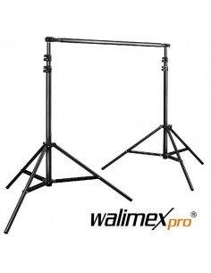 Soporte de fondos telescópico Walimex Pro 225-400cm