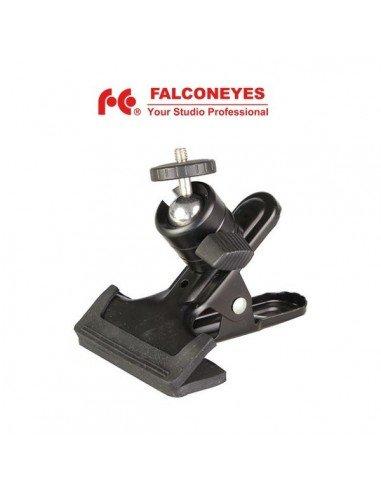 Pinza de estudio Falcon Eyes con rótula