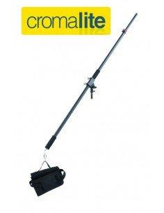 Brazo Jirafa portátil Cromalite 2,5m con bolsa para contrapeso