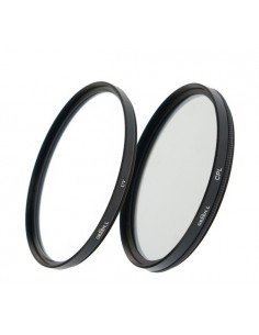 Kit filtros doble rosca 40,5mm UV+CPL