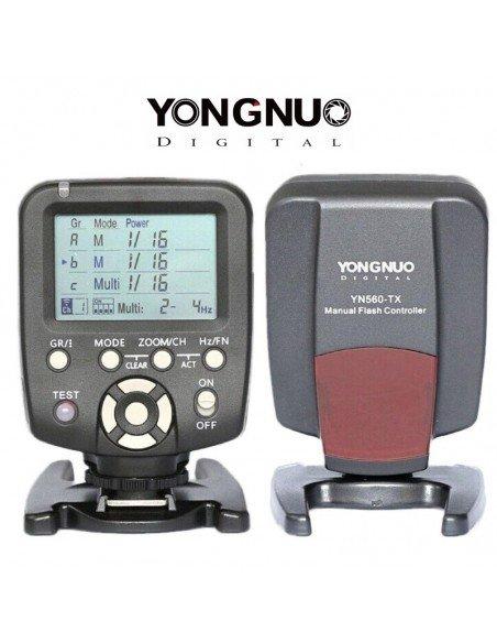 Disparador-controlador Yongnuo YN560-TX para Canon Compatible con YN-560III y IV