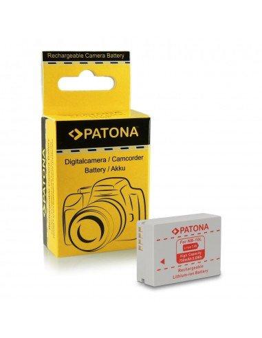 Batería Patona NB-10L infochip para Canon SX40 HS, SX50 HS, SX60 HS, G1X G15 G16