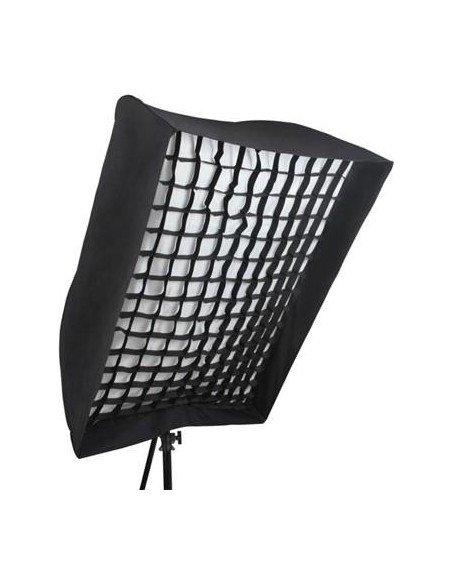 Ventana Phottix Easy-Up 90x120cm con grid para flash compacto