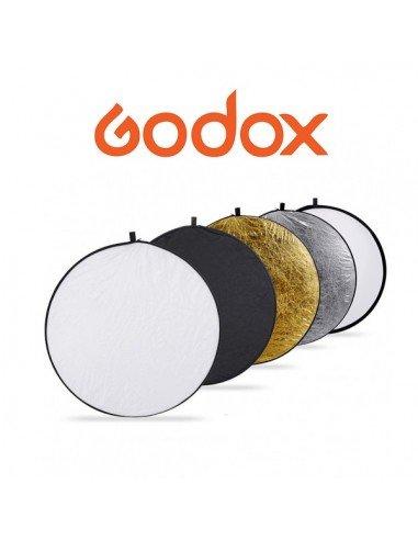 Reflector Plegable Redondo Godox 5 en 1 de 80cm