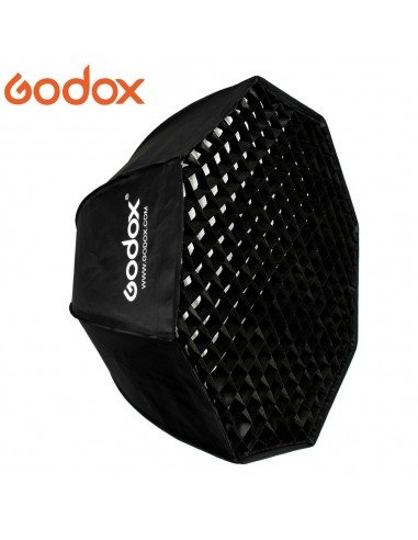 Ventana Godox Premium Octa 120cm con adaptador Elinchrom y GRID