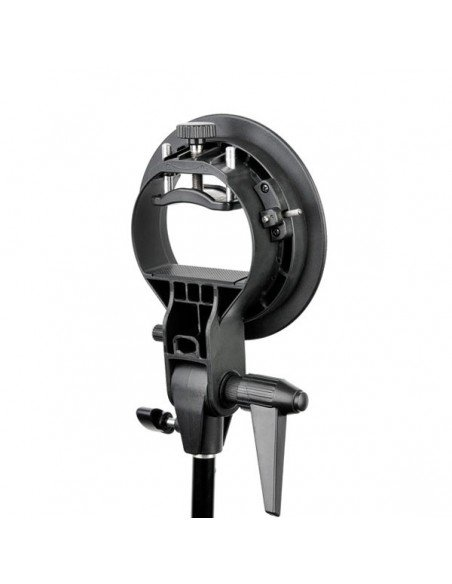 Soporte Phottix FTx3 con rótula para flashes