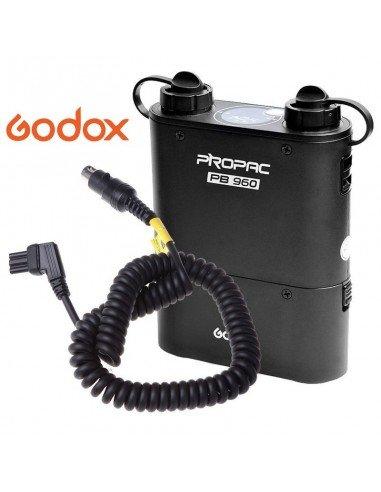 Batería Godox Propac PB960 para Nikon