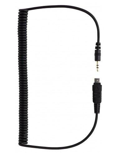 Cable extra Phottix para Olympus E-M10 EM-1 EM-1 Mark II EM-5 E-450 E-510 E-520 E-600 E-620