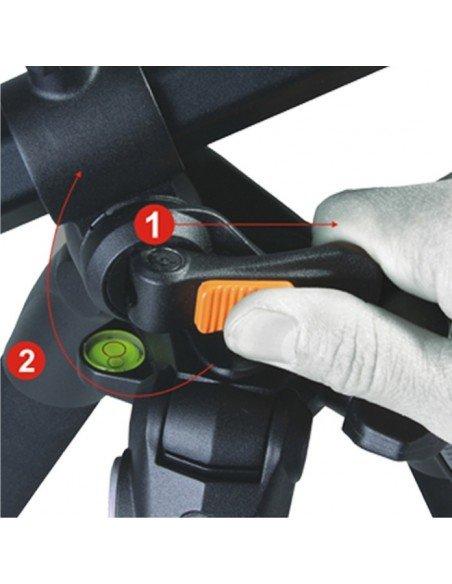 Ventana plegable 80X80cm doble difusor para flash compacto