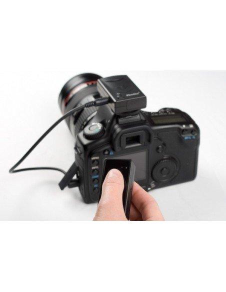 EMPUÑADURA para Nikon D80 D90 pantalla LCD+mando IR