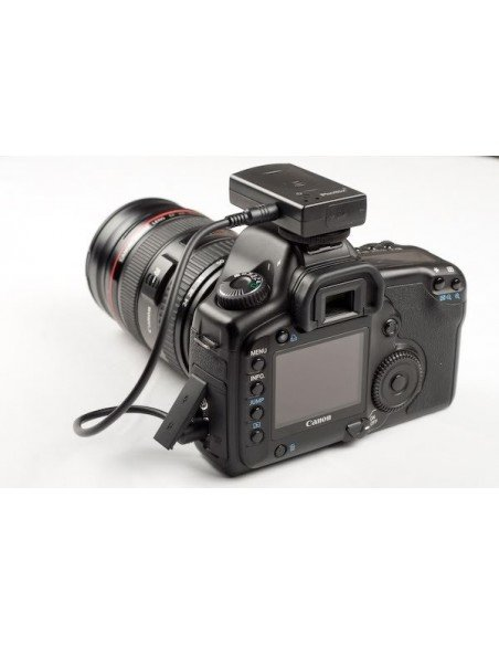 EMPUÑADURA para Nikon D80 D90 pantalla LCD+mando IR+2 baterias EN-EL3e