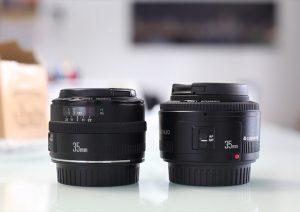 Review YN 35 mm f/2 vs Canon EF 35 mm f/2