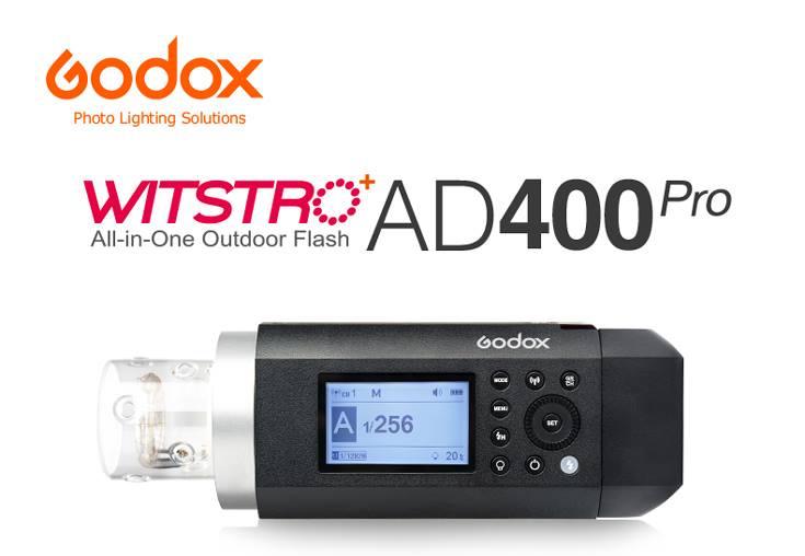 Lanzamiento flash autónomo Godox AD400 Pro