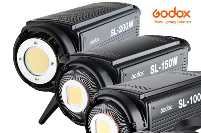 Focos luz contínua serie SL de Godox