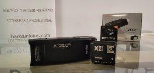 Sincronización Godox X2T con AD200Pro