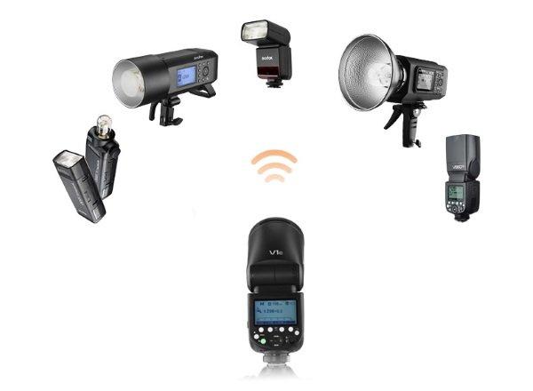 Accesorios Flash para fijar Godox V1S Cámara Godox V1S Zapata Pie De Montaje